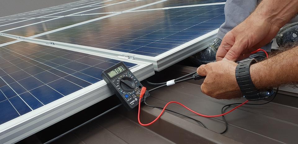 Des panneaux solaires pour produire de l'énergie